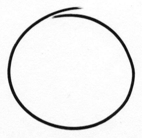 There is a beginning and end, but the story goes full circle. Like a Zen enso.