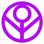 Female Power symbol 1 Purple