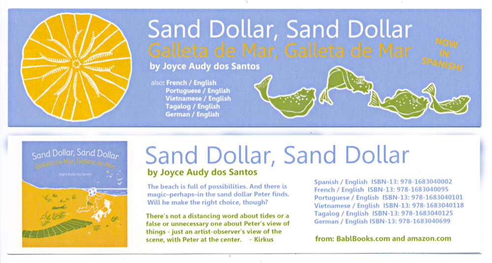 Sand Dollar bookmark2