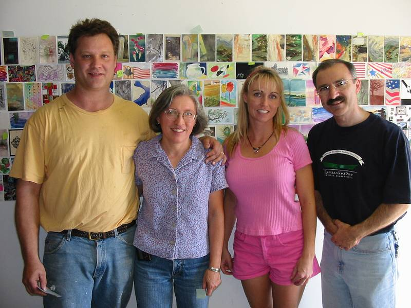 Jeb Dubus, me, Debbie Hayes, and Jim Zingarelli